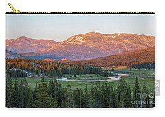 Sunset On Yosemite's Meadows Carry-all Pouch