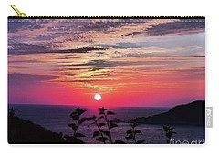 Sunset On Zihuatanejo Bay Carry-all Pouch