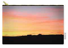 Carry-all Pouch featuring the photograph Sunset Over Cairnpapple by RKAB Works