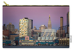 Carry-all Pouch featuring the photograph Sunset Over Chelsea by Eduard Moldoveanu