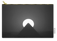 Carry-all Pouch featuring the photograph Sunset Over Cheops by Donna Corless