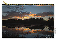 Sunset Over Cranberry Bogs Carry-all Pouch