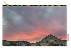 Sunset Over Farmland In Central Oregon Carry-all Pouch