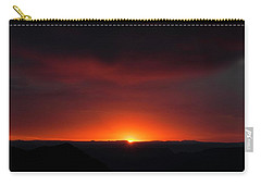 Sunset Over Grand Canyon Carry-all Pouch