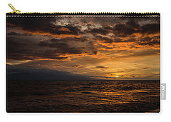 Sunset Over Hawaii Carry-all Pouch