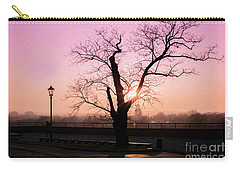 Carry-all Pouch featuring the photograph Sunset Over Krakow by Juli Scalzi