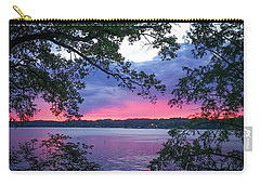 Sunset Over Lake Cherokee Carry-all Pouch