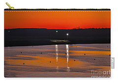 Carry-all Pouch featuring the photograph Sunset Over Lake Texoma by Diana Mary Sharpton