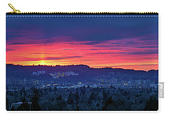 Sunset Over Marquam Hill Carry-all Pouch