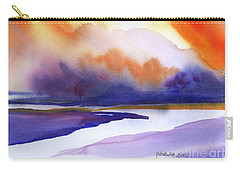 Sunset Over Marsh Carry-all Pouch