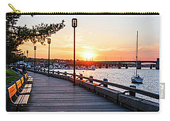 Sunset Over Newburyport Ma Merrimack River Newburyport Turnpike Carry-all Pouch