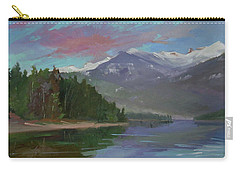 Sunset Over Priest Lake, Id Carry-all Pouch