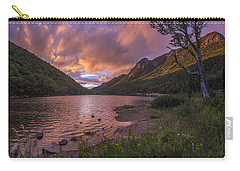 Sunset Over Profile Lake Carry-all Pouch