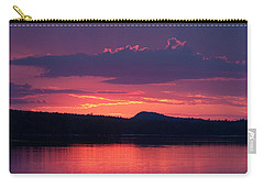 Sunset Over Sabao Carry-all Pouch by Brent L Ander