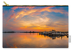 Sunset Over Shrewsbury Bay Carry-all Pouch