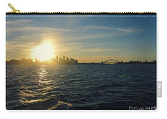 Sunset Over Sydney Harbour Carry-all Pouch