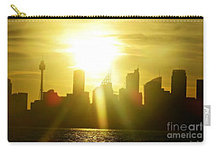 Sunset Over Sydney Carry-all Pouch