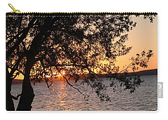 Sunset Over The Caribbean In Cienfuegos, Cuba Carry-all Pouch