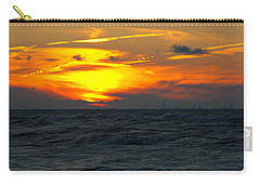 Sunset Over The City Carry-all Pouch