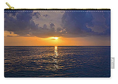 Sunset Over The Gulf Of Mexico Carry-all Pouch