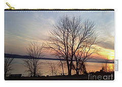 Sunset Over The Potomac Carry-all Pouch