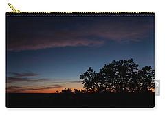 Sunset Over The Utah Desert Carry-all Pouch