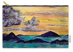 Sunset Over The Virgin Islands Carry-all Pouch