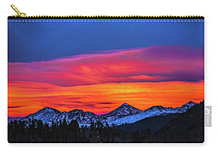 Sunset Over Torreys And Grays Peaks Carry-all Pouch