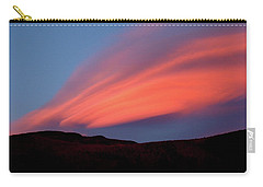 Sunset Paints Stinson Mountain Carry-all Pouch