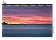 Carry-all Pouch featuring the photograph Sunset Penisular, Bunker Bay by Dave Catley