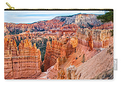 Carry-all Pouch featuring the photograph Sunset Point Tableau by John M Bailey