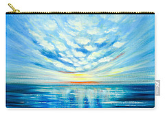 Sunset Quest Blue Carry-all Pouch