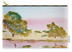 Reflections At Sunrise Carry-all Pouch