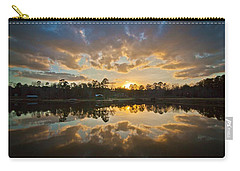 Sunset Reflections Carry-all Pouch by Linda Unger