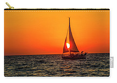 Sunset Sail Carry-all Pouch