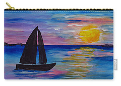Sunset Sail Small Carry-all Pouch
