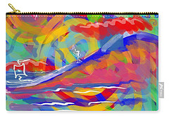 Sunset Sailboat Carry-all Pouch by Jason Nicholas