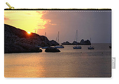 Sunset Sailing Boats Carry-all Pouch