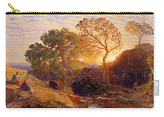Sunset Carry-all Pouch by Samuel Palmer