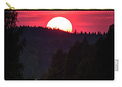 Sunset Scenery Carry-all Pouch
