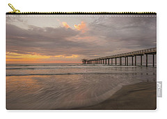 Sunset Scripps Beach Pier La Jolla San Diego Ca Image 4  Carry-all Pouch