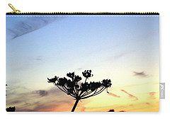 Sunset Seedhead Silhouette  Carry-all Pouch