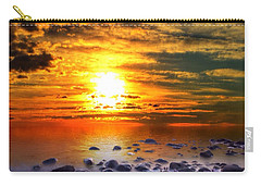 Sunset Shoreline Carry-all Pouch