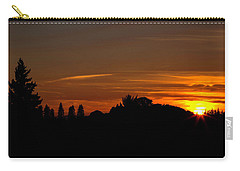 Sunset Silhoutte Carry-all Pouch