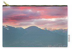Sunset Sky Over Port Of Vancouver Bc Carry-all Pouch