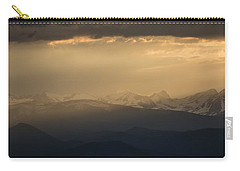 Carry-all Pouch featuring the photograph Sunset Softness by Colleen Coccia