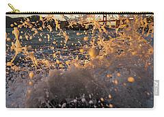 Sunset Splash Carry-all Pouch by Alpha Wanderlust
