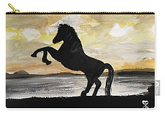 Sunset Stallion Carry-all Pouch