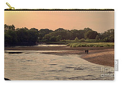 Sunset Stroll In The Marshes Carry-all Pouch