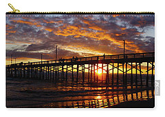 Carry-all Pouch featuring the photograph Sunset  by Thanh Thuy Nguyen